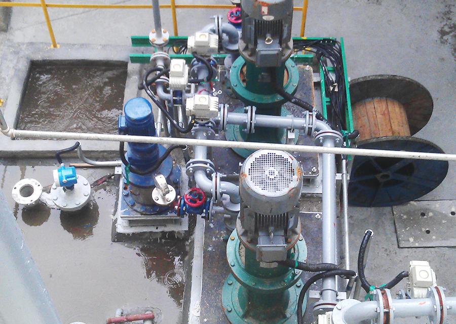 海宁马家桥大都市热电公司选用HT系列成套阀